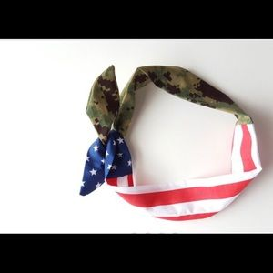 Accessories - Marine/flag headband 2 for 25.
